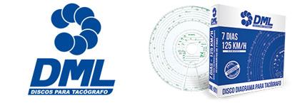 DML Discos para Tacógrafo